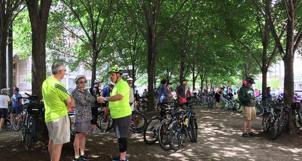 Holy Rollin': 250 bicyclists take tour of downtown Detroit Catholic churches