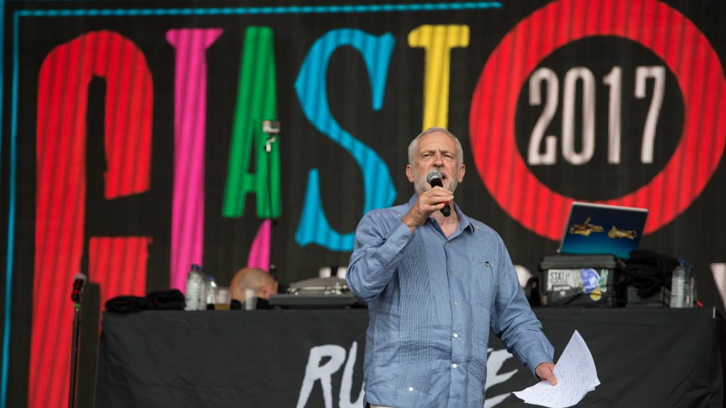Politics back on centre stage at this year's Glastonbury