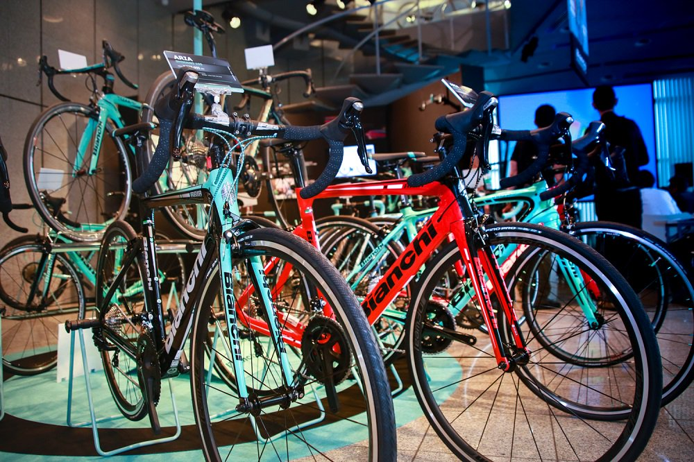 Bianchi Store丸の内にて、2018年モデルの試乗会を開催致します。最新モデルのARIAやOltre XR3も