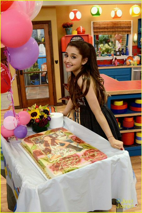 Happy Birthday Ariana Grande Have a nice day, thank you for everything we love you