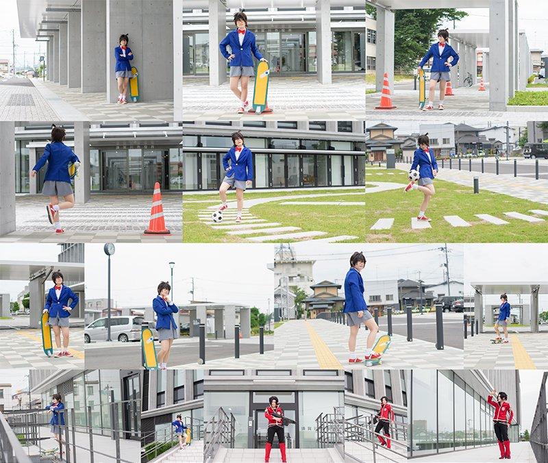 9月17日開催奥州須賀川HISTREET。須賀川市役所本庁舎の撮影エリアです昨日プレ撮影を行いました当日は曇りでしたが光