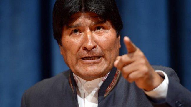 Evo Morales a Piñera: Un presidente indígena jamás callará ante el jefe de la oligarquía pinochetista