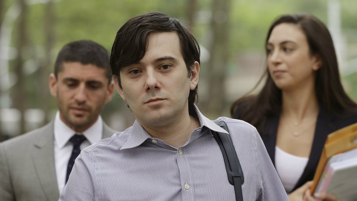 Shkreli defies advice to keep quiet before fraud trial