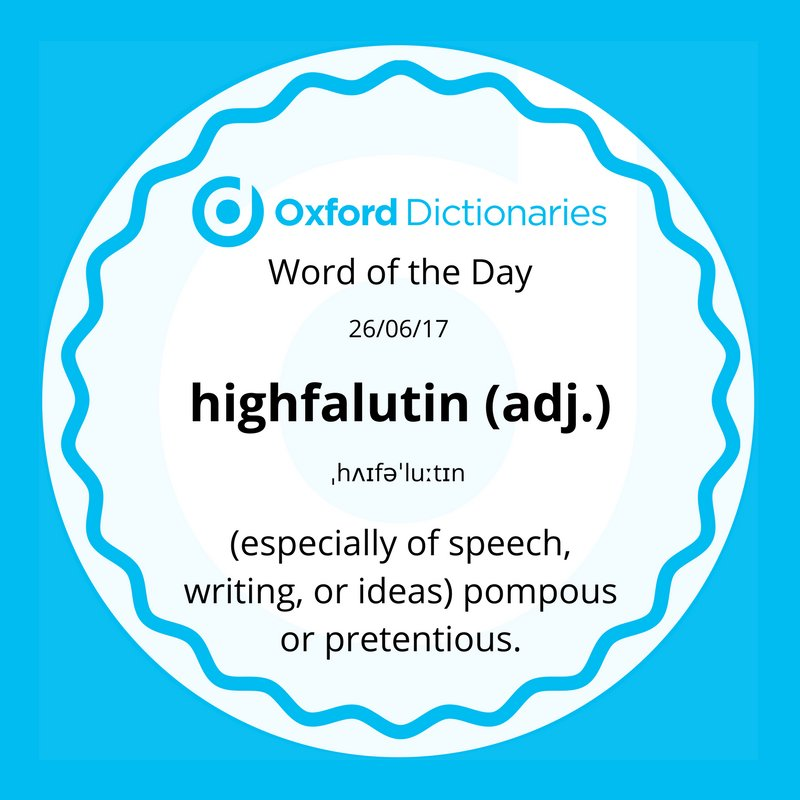 test Twitter Media - Word of the Day: highfalutin https://t.co/AD5vtzKVgZ https://t.co/b88ZrLFZfR