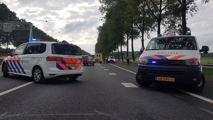 Roekeloze dronken Pool ramt politieauto A15 https://t.co/ge9OLD2Su2 https://t.co/KlptPetbC3