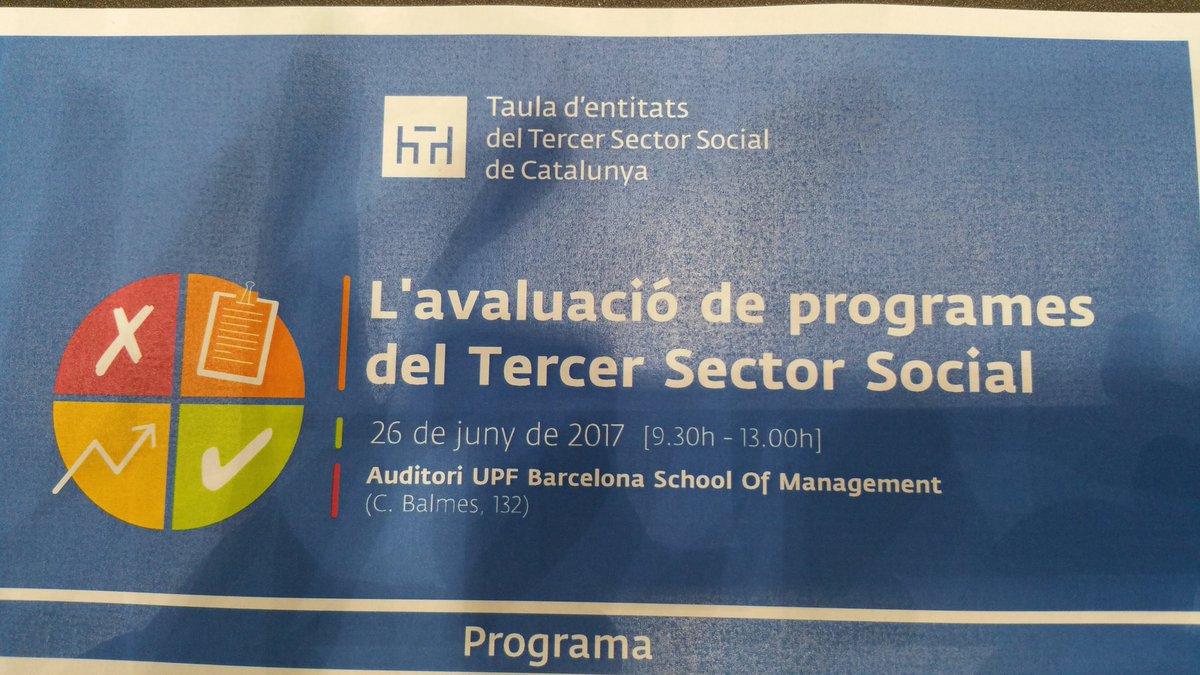"provar Twitter Mitjans - @abd_ong avui @Taula3sector presenta la "" Guía pràctica d'avaluació  programes del Tercer sector  social"" z https://t.co/LMDwAmWZdh"