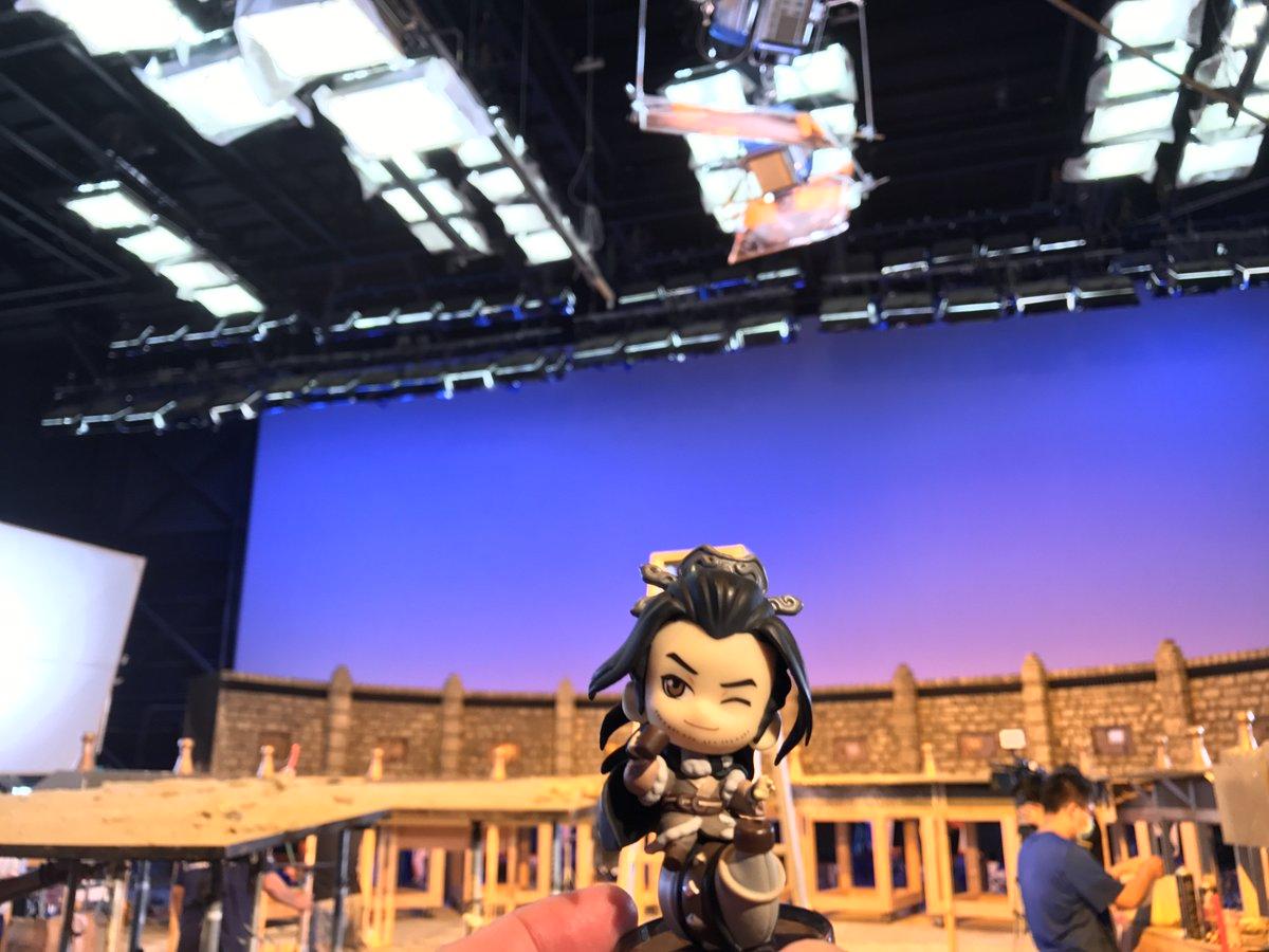 「Thunderbolt Fantasy 生死一劍」は本日クランクアップ!40度を超えるスタジオでの撮影、本当にお疲れ様