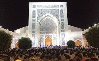 Uzbekistan celebrating Eid al-Fitr
