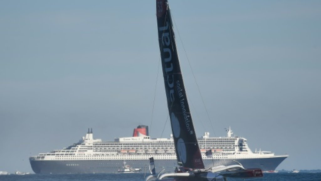 High emotion as Queen Mary 2, four trimarans race to New York