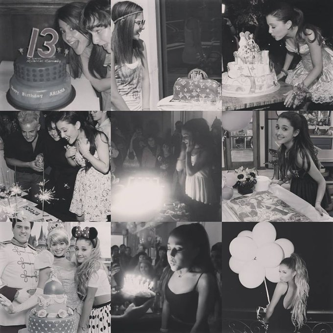 happy birthday queen ariana grande stay strong,stay prrety,stay hot and i love you so much
