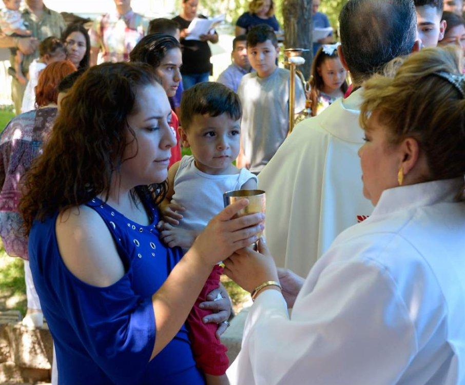 Photos: Sacred Heart Catholic Church celebrates its centennial