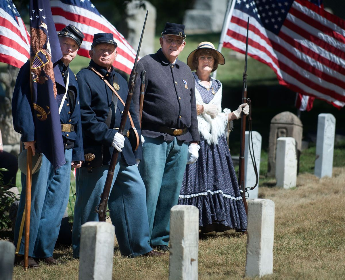 Photos: Civil War Graves Rededication