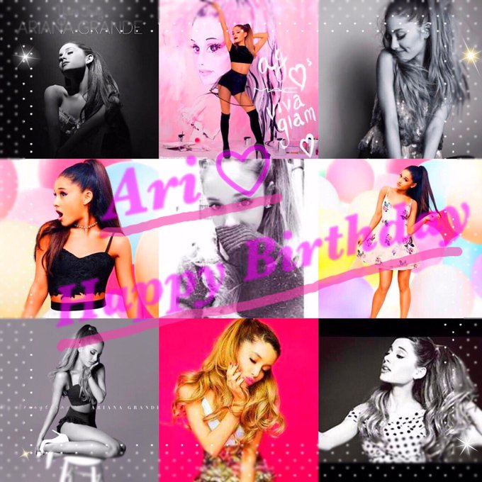 Ariana Grande  Happy Birthday