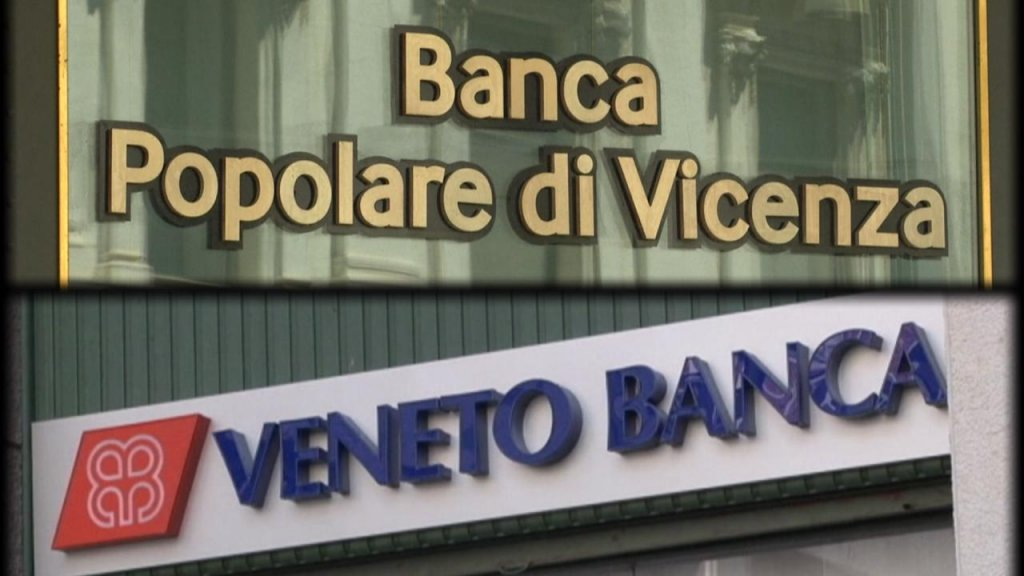 BUSINESS DAILY - Italian government bails out two regional banks