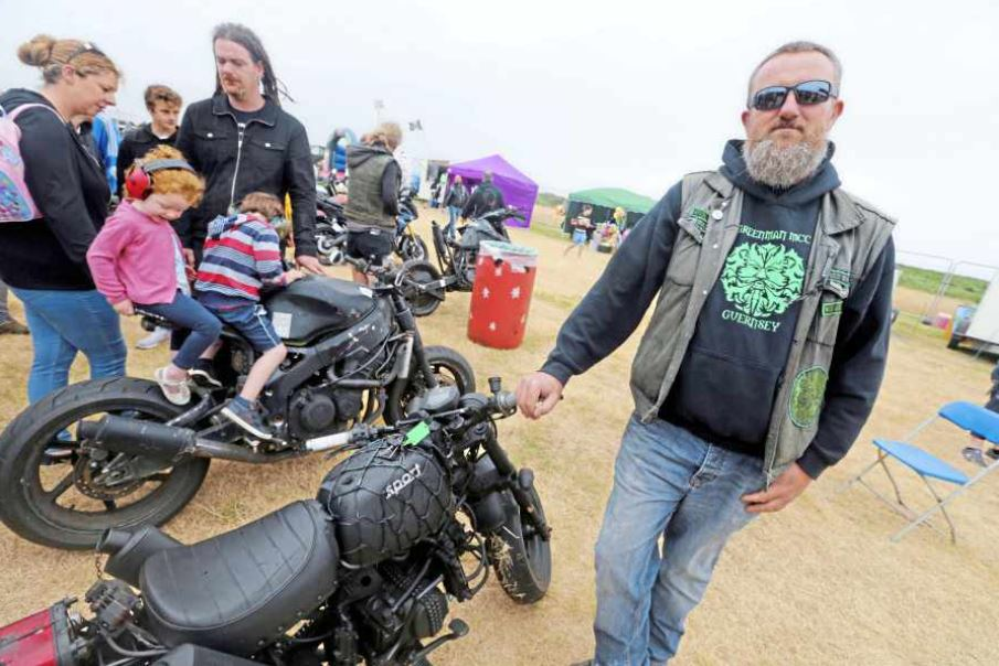 Burnouts, music at Pleinmont headland for Chaos Festival « Guernsey Press