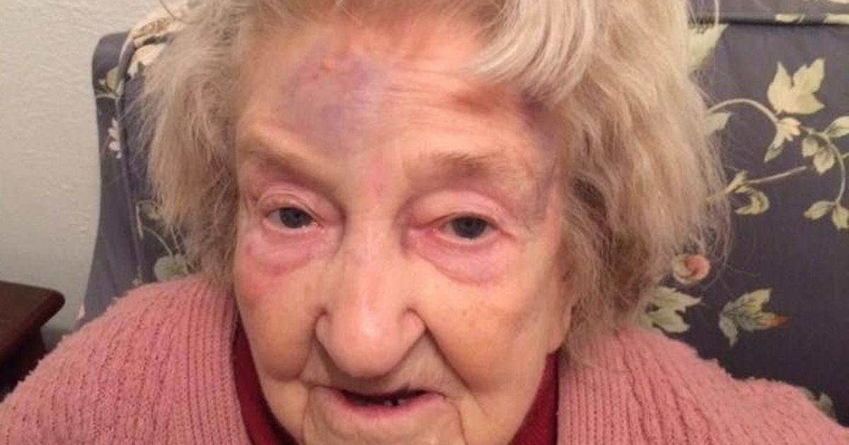 An 87-year-old murder victim gave this chilling account of how she was attacked by a robber - shortly before she died