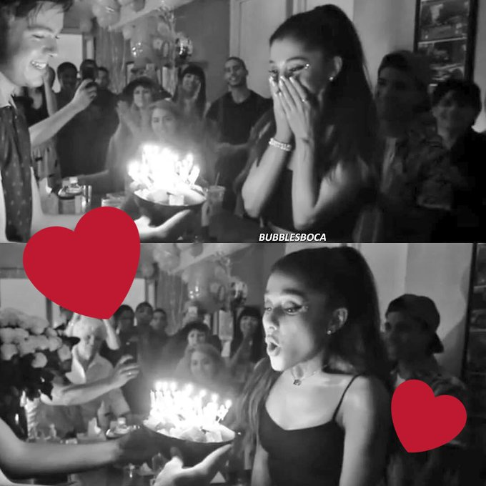 Happy birthday to Ariana Grande  I love her so much