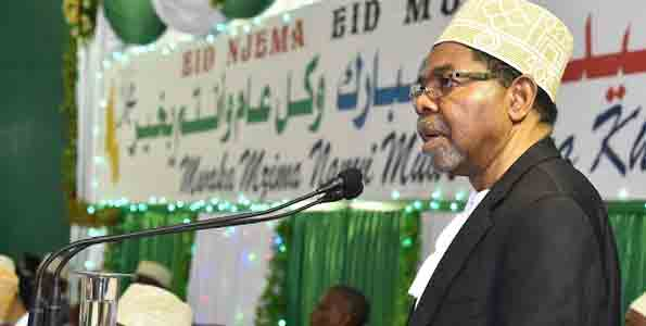 Zanzibar's Shein urges on protection of natural gas on Eid Day