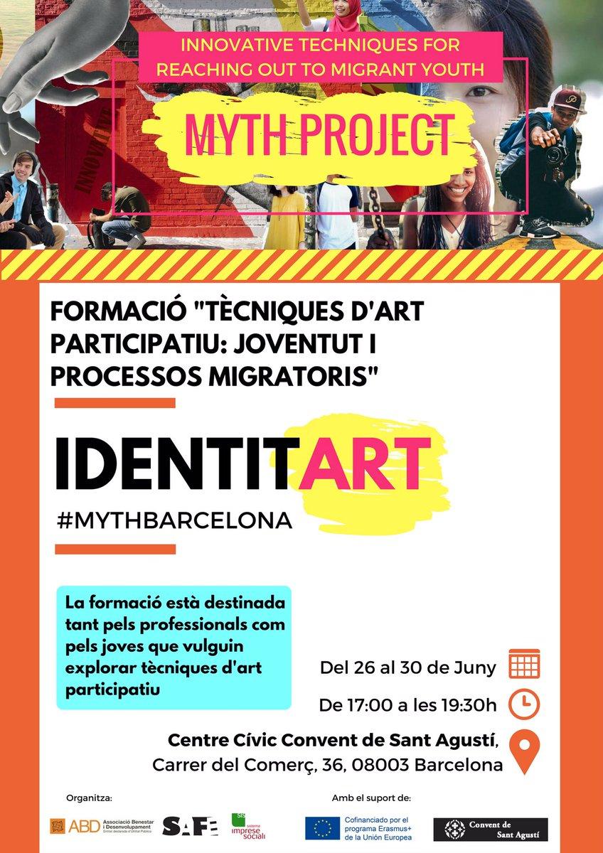 provar Twitter Mitjans - Interessant proposta formativa d'#art #participatiu ! #identitart #mythbarcelona , potser encara hi ets a temps! @abd_ong @ConventAgusti https://t.co/Qgyq56Mk1n