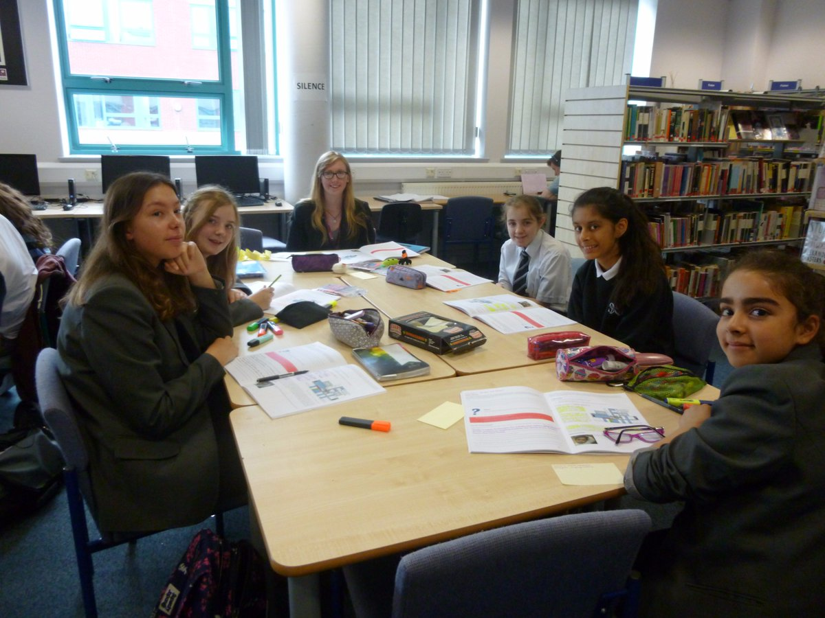 test Twitter Media - NSG girls working hard with post grad mentor @Natnotgnats thanks to @BrilliantClub . Such a privilege for our girls. https://t.co/uA81ng3mdT