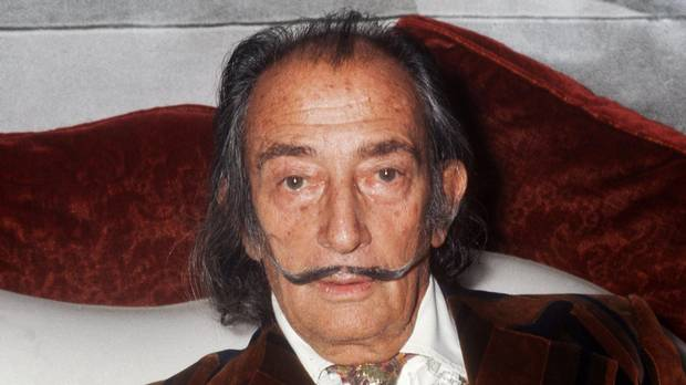 Salvador Dali's remains to be exhumed in Spain for paternity test