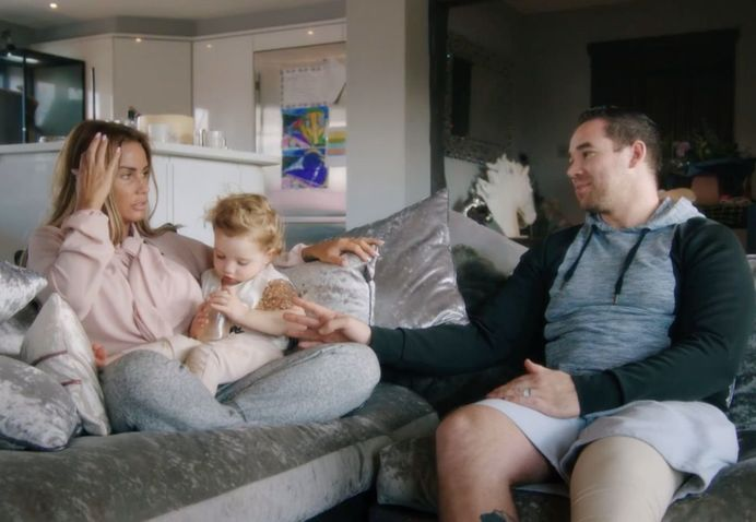 Katie Price and Kieran Hayler get into a heated argument... About