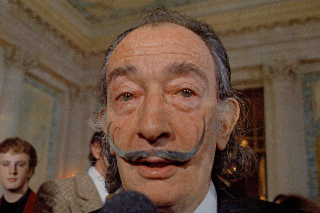 Salvador Dali's body to be exhumed in Spain amid a paternity lawsuit
