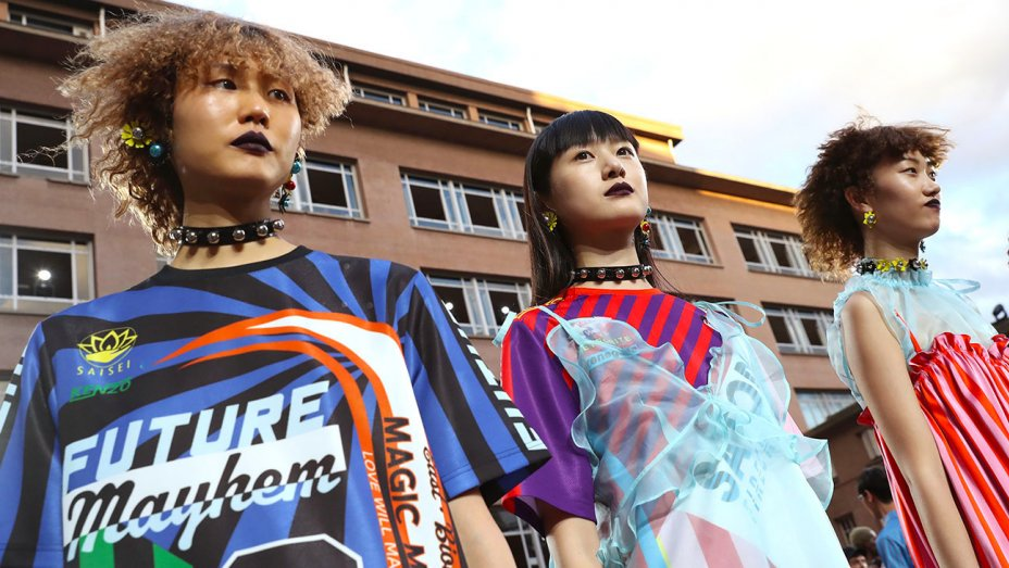 RT @pretareporter: Kenzo Exclusively Cast Asian Models for Its Spring 2018 Show: