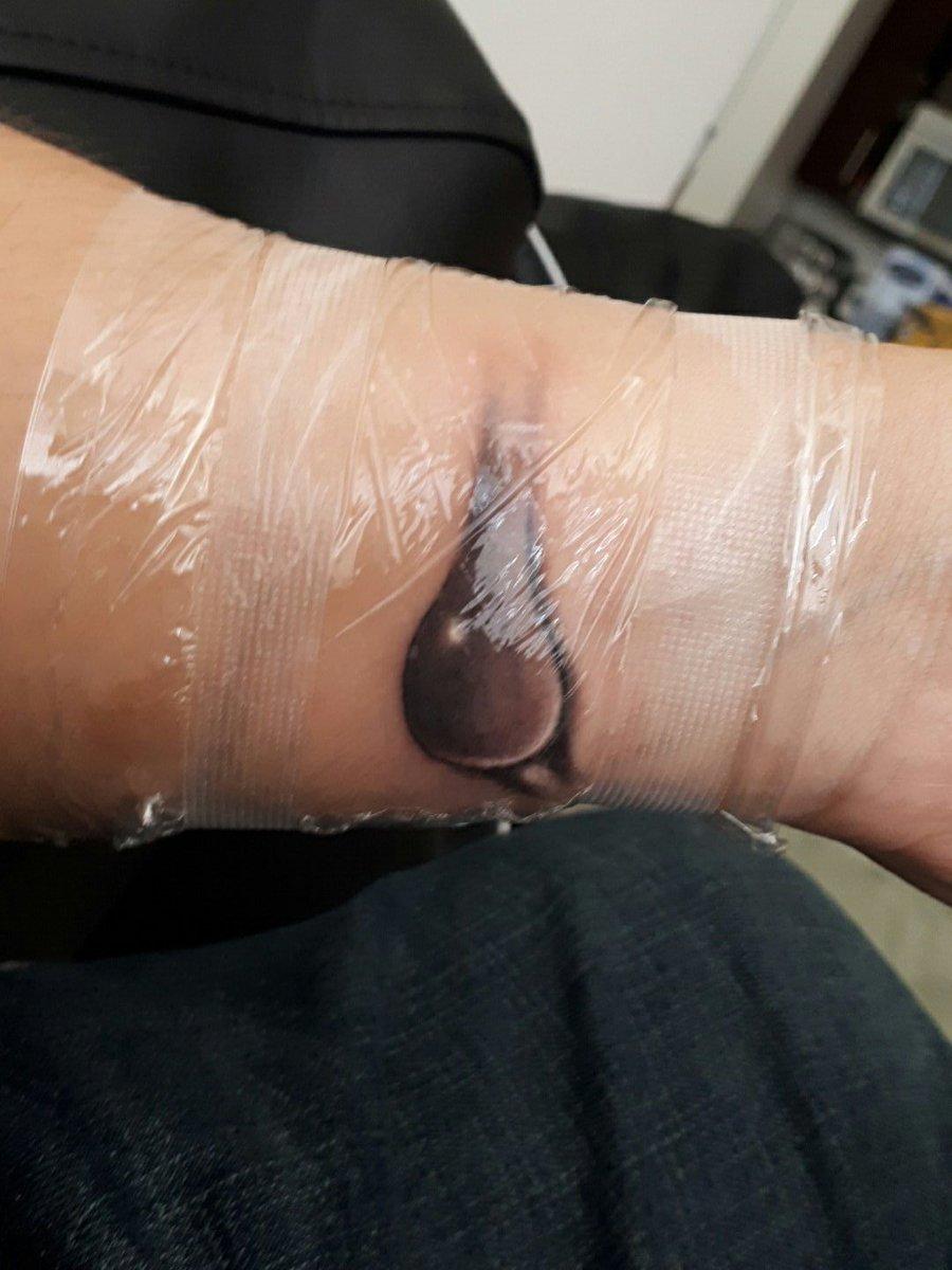 test Twitter Media - @KRis_ArtStuffs tattoo done by Mike Waters . He's got great bedside manner 🖒 https://t.co/HnqTsu9tnI