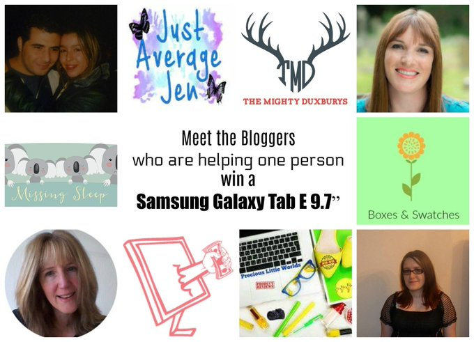 Win A Samsung Galaxy Tab In The Bloggers Summer Giveaway