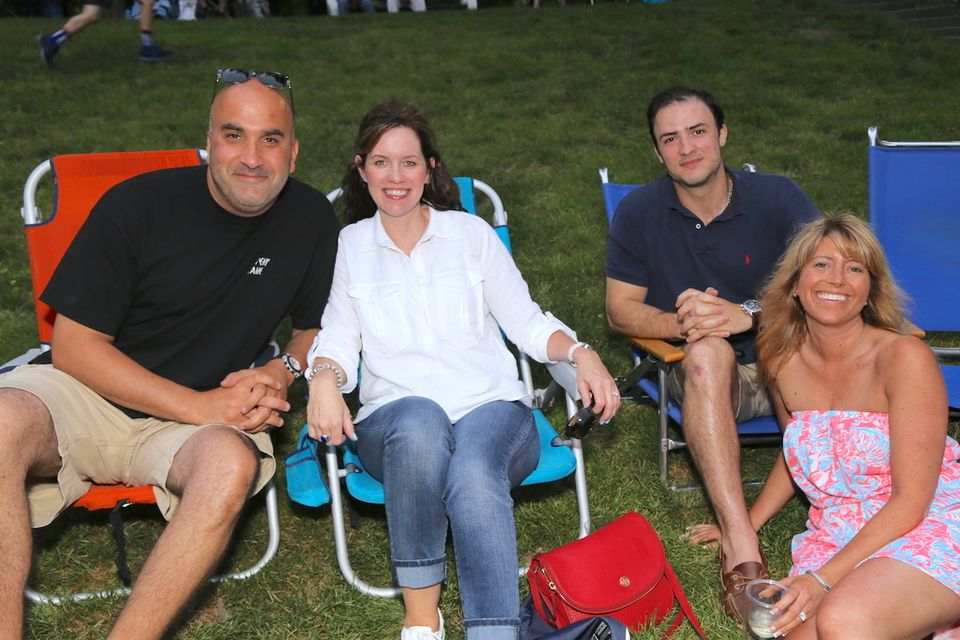 Seen@ Forest Park Concert Series Spring 2017 finale with The Manzi Family Band
