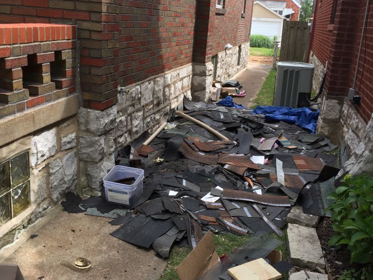 Runaway roofers who removed the wrong roof tracked down by St. Louis neighbors