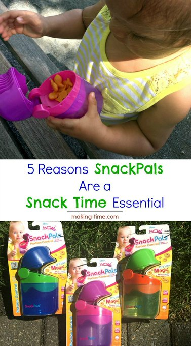 5 Reasons SnackPals Are a Snack Time Essential + Giveaway -