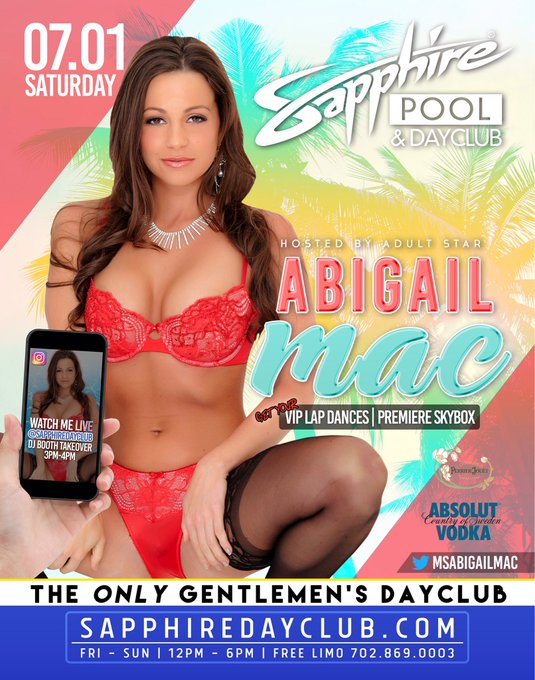 Party with me at @SapphireDayClub this Saturday! Reserve your spot! Call:702.637.0790 to #RSVP https://t