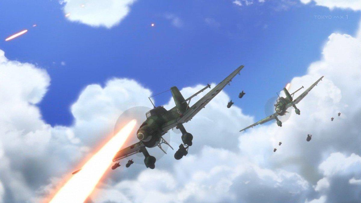 終末のイゼッタにスツーカが爆弾投下アーム伸ばしてる画像あった。