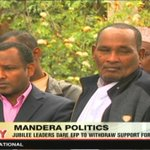 Jubilee leaders dare EFP to withdraw support for Uhuru