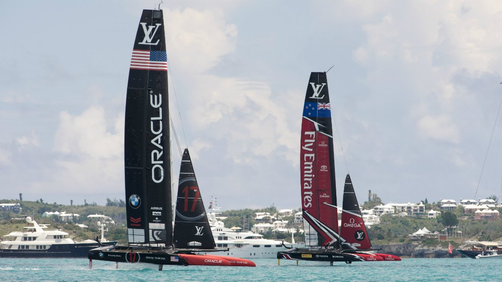 New Zealand crush Team Oracle USA to win America's Cup