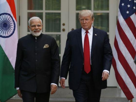 Trump urges India's Modi to fix deficit, but stresses strong ties