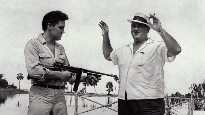 A feature film about Elvis Presley's manger Colonel Tom Parker is in the works.