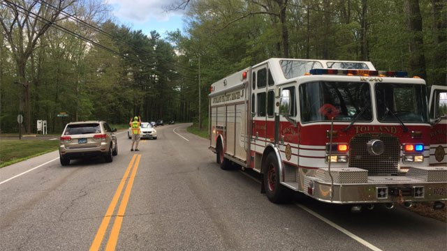 Crystal Lake Road in Tolland reopens following crash