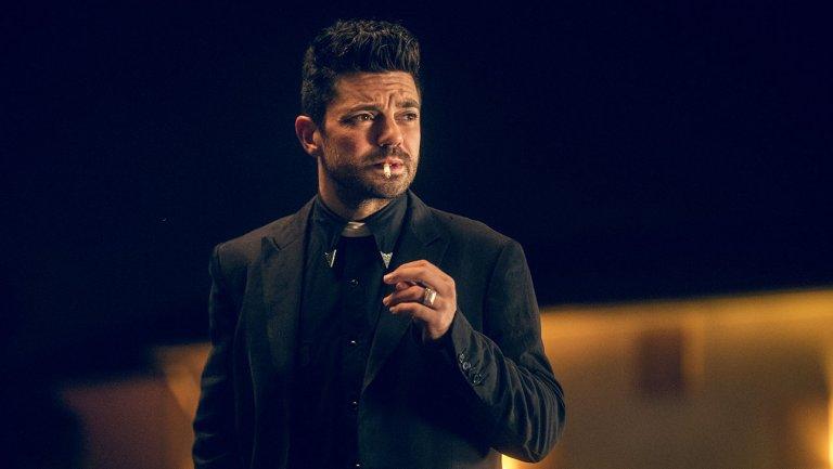 "Preacher showrunner on Season 2's ""perverse and absurd"" search for God"