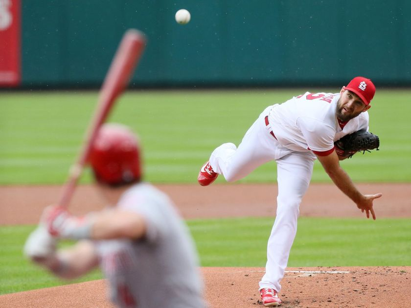 Wacha bounces back, Grichuk homers again as Cards rout Reds