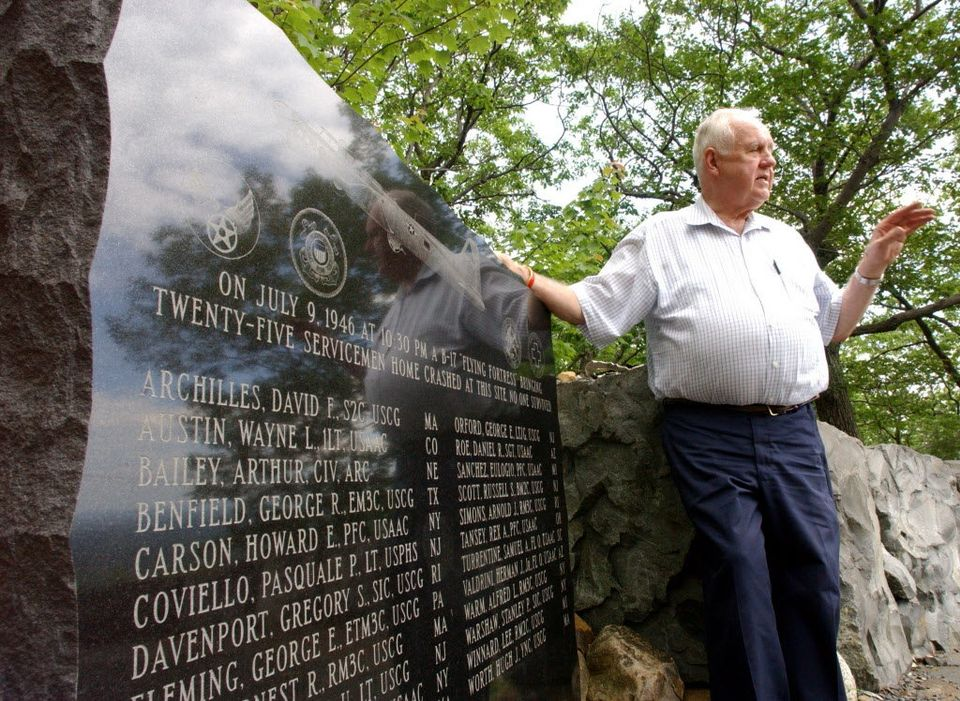 71st anniversary of military plane crash on Mount Tom in Holyoke set for ceremony July 15