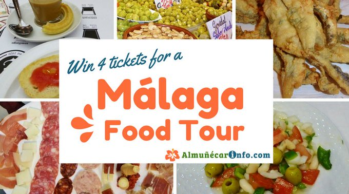 Win 4 Malaga Food Tour Tickets!