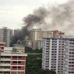 Fire breaks out at rubbish collection centre in Bedok South; no injuries reported