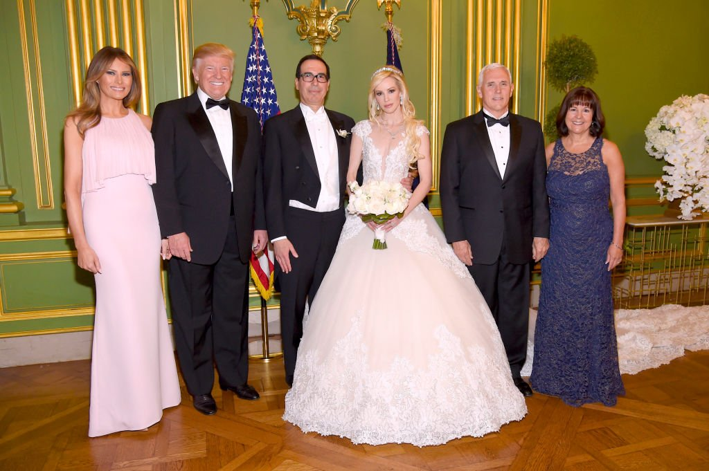 Inside the extravagant wedding of Treasury Secretary Steve Mnuchin and 36-year-old actress Louise Linton
