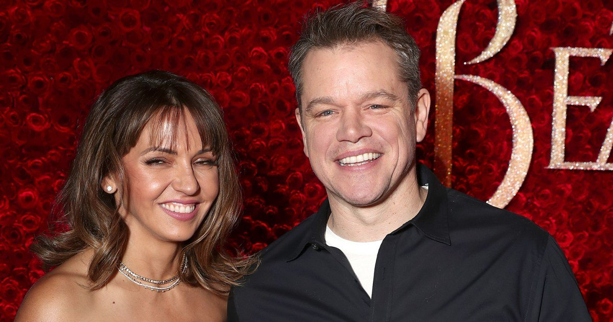 Matt Damon and Wife Pack on the PDA During Date Night at U2 Concert in Boston: 'They Were Super Cute Together'