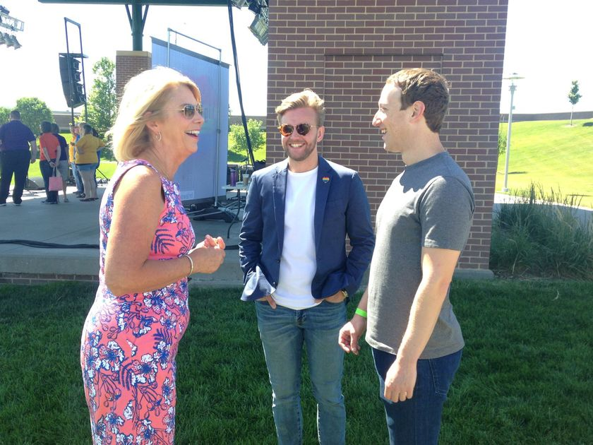 Facebook founder Mark Zuckerberg visits Omaha, North Platte on tour of U.S.