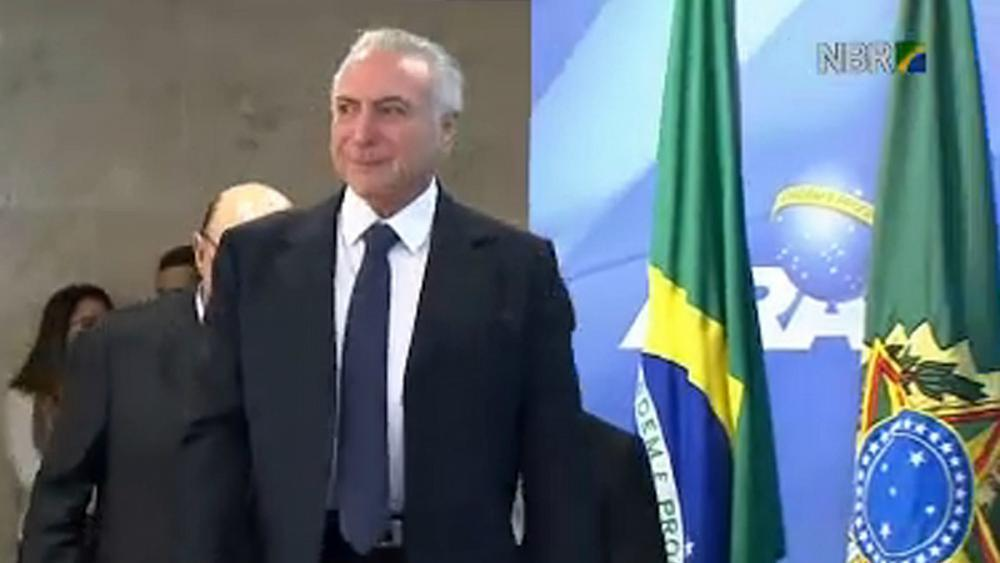Brazil's president charged with bribery