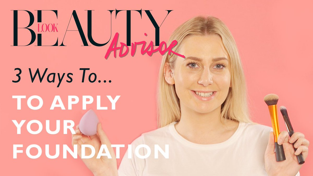 WATCH: 3 ways to apply your foundation ?? ??